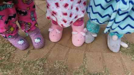 Bramley Nursery School Pajama Day 2017