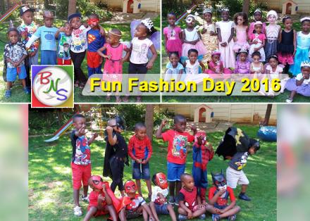 Fun Fashion Day 2016 - Bramley Nursery School